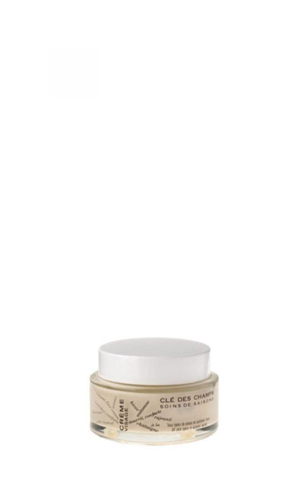 Crème nourrissante BIO à la châtaigne Clé des Champs